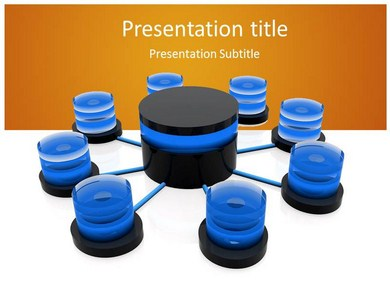 Database Distributed Powerpoint Templates