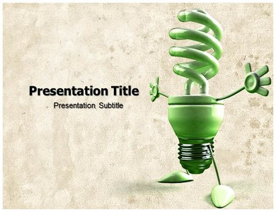 Energy Consumption Powerpoint Templates