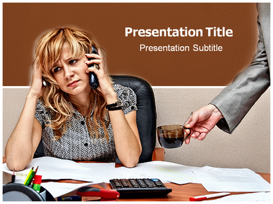 Busyness Powerpoint Templates
