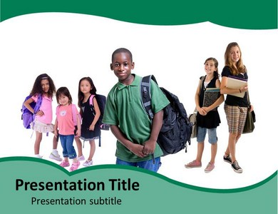 Students Powerpoint Templates