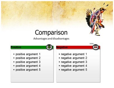 American indian powerpoint templates american indian ppt template american indian previous template next template toneelgroepblik Images