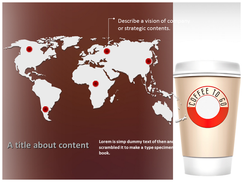 Coffee Cup Powerpoint Templates