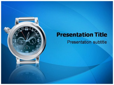 Wrist Watch Powerpoint Templates