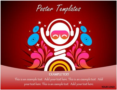 Poster PowerPoint Template Powerpoint Templates