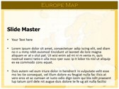 Europe Map  powerPoint templates