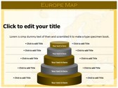 Europe Map  powerpoint slides download