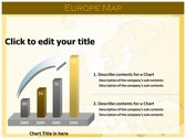 Europe Map  download powerpoint themes