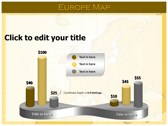 Europe Map  powerPoint backgrounds