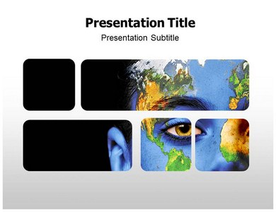 Green Earth Design Powerpoint Templates