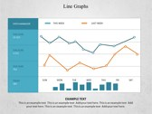 Line Graphs powerPoint background