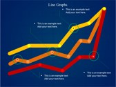 Line Graphs powerpoint template download