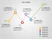 Line Graphs powerPoint backgrounds