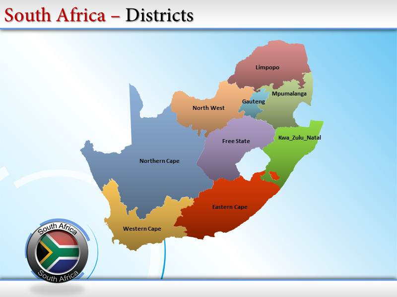 South africa map powerpoint ppt templates south africa map my toneelgroepblik Choice Image