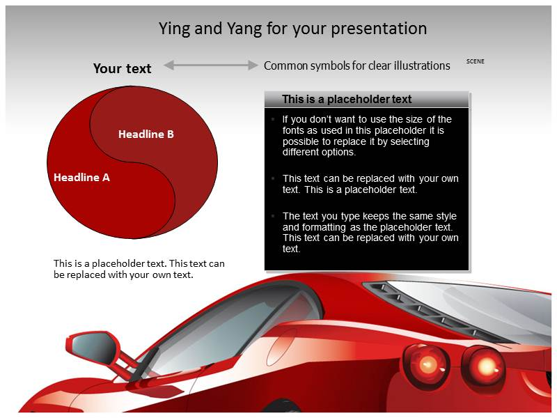 Race Car Powerpoint Templates
