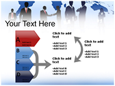 Silhouettes powerpoint themeprofessional