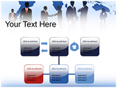 Silhouettes ppt themes template