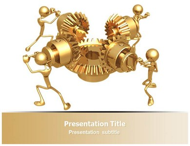 Machinery Trader Powerpoint Templates