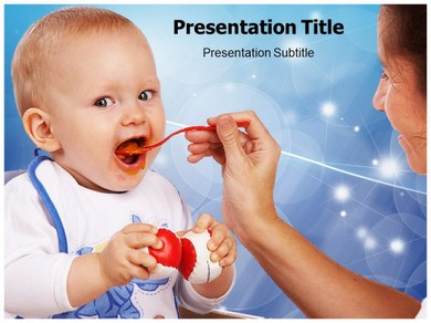 Feeding Tubes Powerpoint Templates
