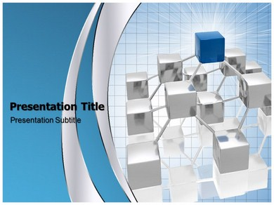 Network Linking Powerpoint Templates