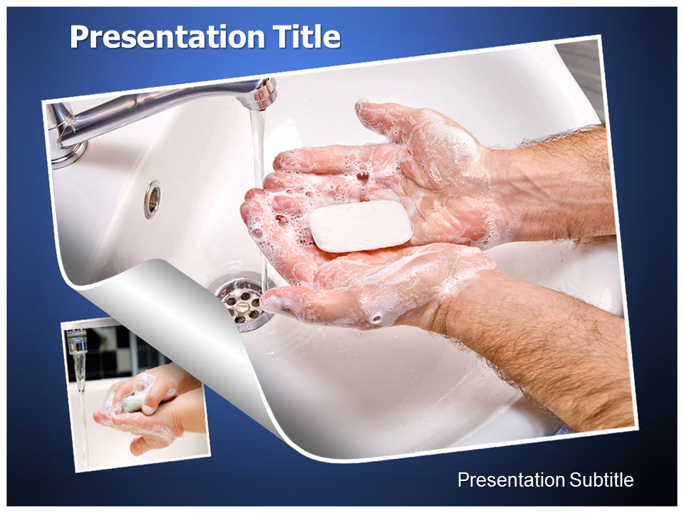 Hand wash powerpoint templates powerpoint presentation on hand my toneelgroepblik Images