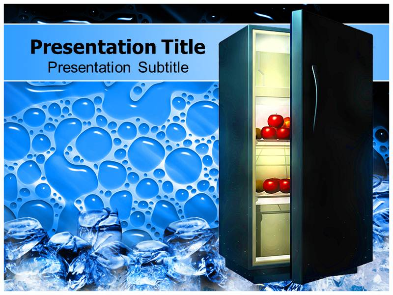 Refrigerator Powerpoint Templates