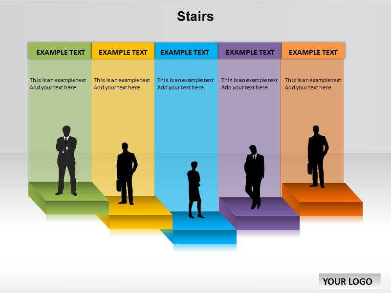 Hurry download stair powerpoint template with niche background theme my toneelgroepblik Choice Image