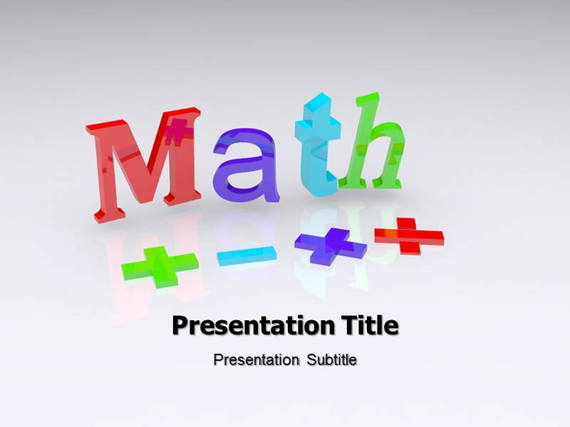 Maths Powerpoint Ppt Background Templates And Themes