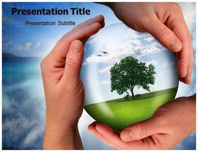 Caring For Nature Powerpoint Templates