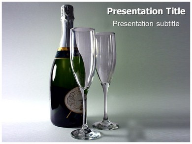 Champagne 1 Powerpoint Templates