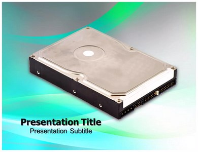 Hard Drive Powerpoint Templates