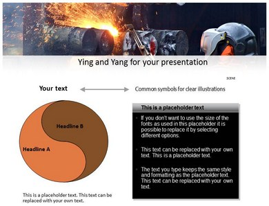 Hard Work Powerpoint Templates