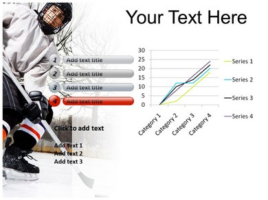 Hockey Powerpoint Templates