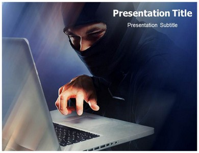 Cyber Crime Powerpoint Templates