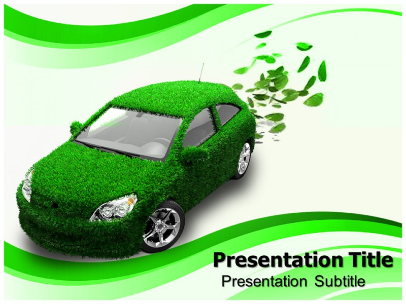 Eco friendly car powerpoint templates eco friendly car powerpoint my toneelgroepblik Gallery