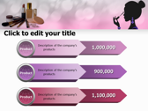 Makeup Tips powerPoint background