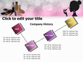 Makeup Tips powerpoint backgrounds download