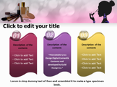 Makeup Tips powerpoint theme download
