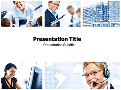 Business Theme Powerpoint Templates
