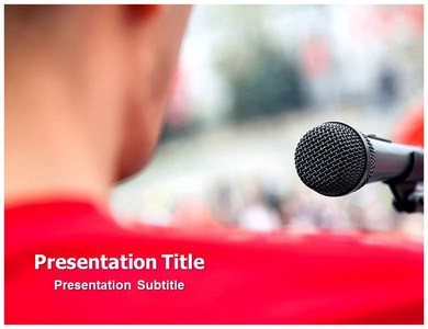 Public Speaking Powerpoint Templates