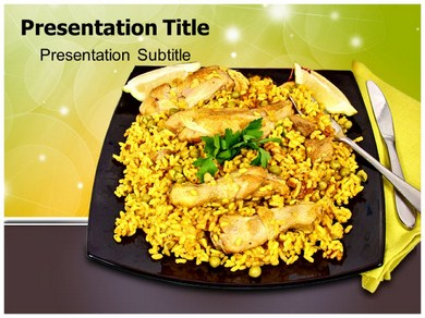 Food Of Spain Powerpoint Templates