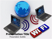 Wifi Card powerPoint template