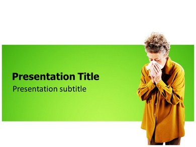 Cold Flu Powerpoint Templates