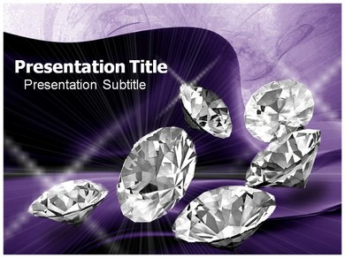 Diamonds Jewellery Powerpoint Templates