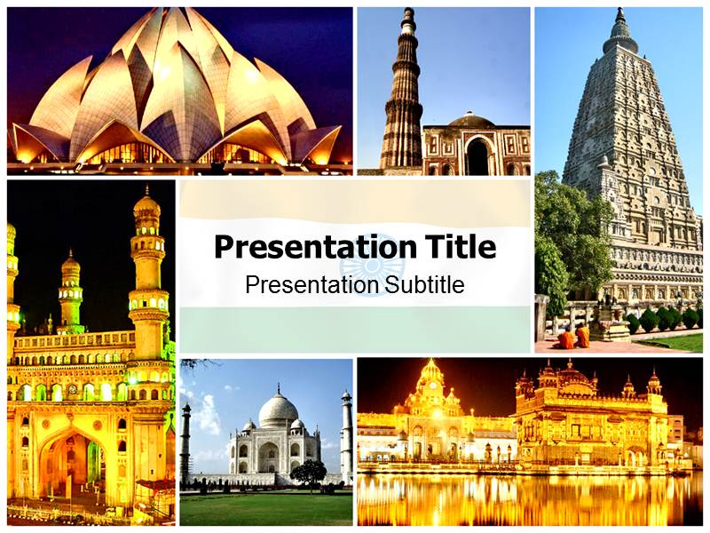 Tourism history in india powerpoint ppt template tourism in download toneelgroepblik Choice Image