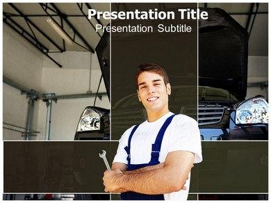 Automobile Engineering 1 Powerpoint Templates