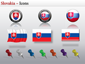 Map of Slovakia  powerpoint backgrounds