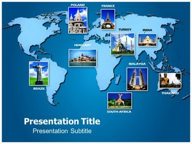tourism powerpoint templates | powerpoint presentation on tourism, Powerpoint templates