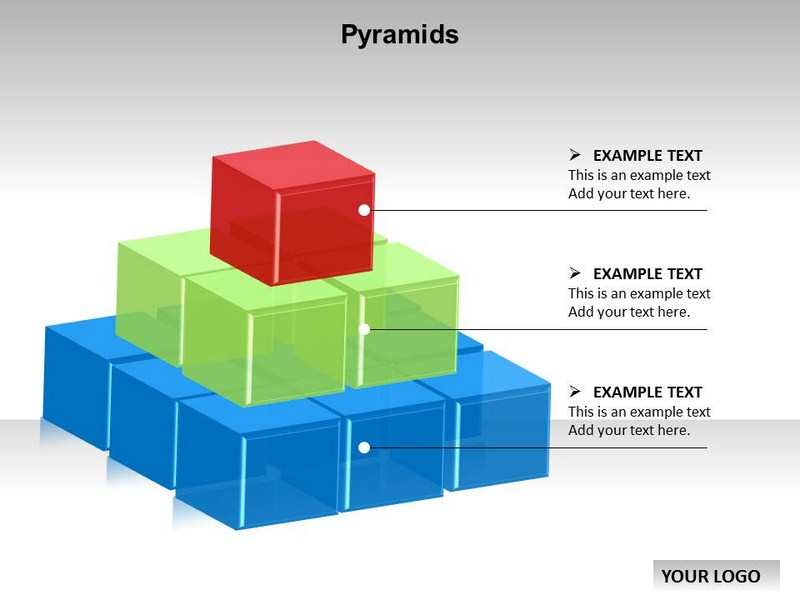 Pyramid Chart Powerpoint Templates