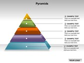 Pyramid Chart powerPoint background
