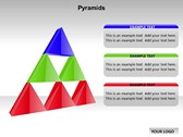 Pyramid Chart powerpoint template download